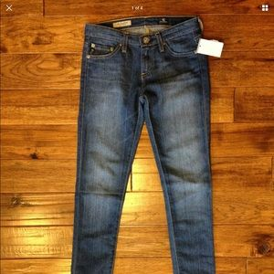 Ag Adriano Goldschmied Jeans - NWT $188 AG 24 super skinny jean
